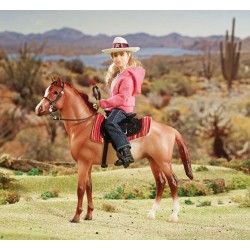 Breyer - Set Caballo Western y Jinete